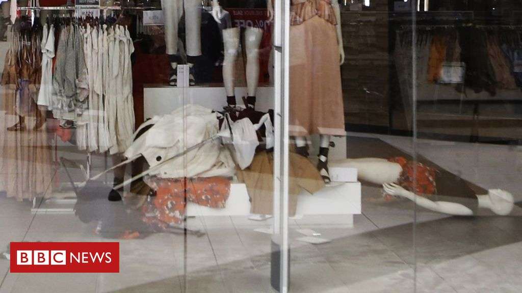 H&M stores trashed over 'racist' hoodie is part of Clothes Store Articles - Activists from a South African opposition party vandalise H&M clothing stores after a racism row