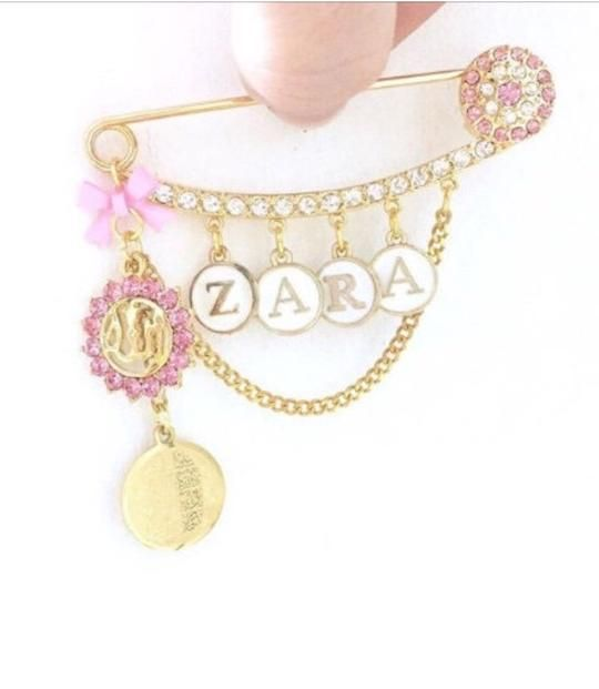 Gold Diamante Islamic Jewelry, Muslim Baby Boy Name ...
