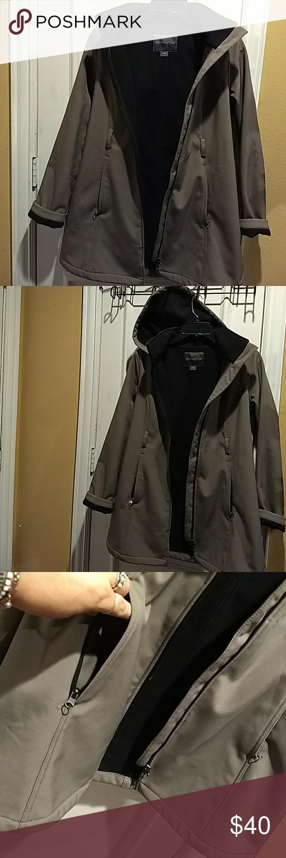 Covington Coat Women Size S C Hoodie Coats For Women Womens Sizes Women [ 1740 x 580 Pixel ]