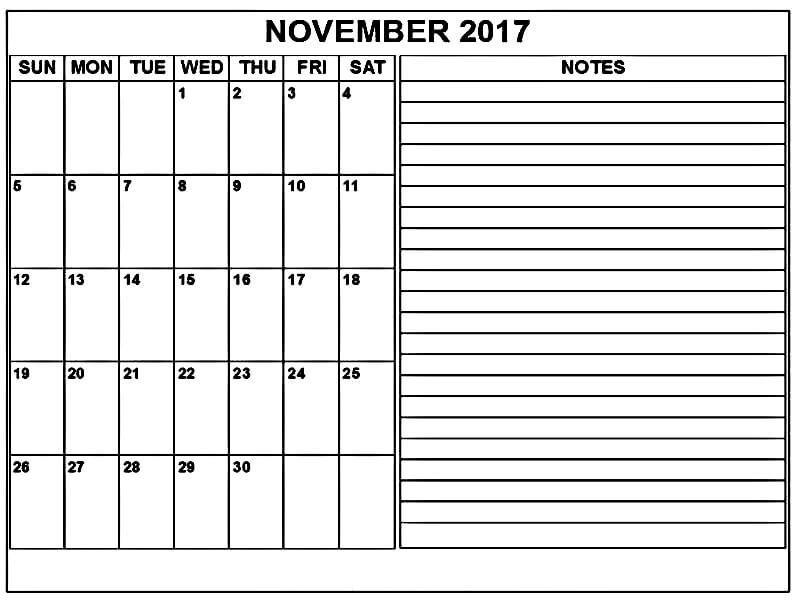 November  Calendar To Print HttpMobispiritCom