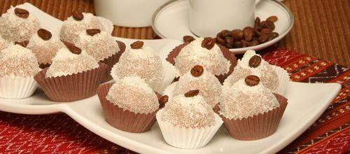 Receita de Docinhos de café. Descubra como cozinhar Docinhos de café de maneira prática e deliciosa com a Teleculinaria!
