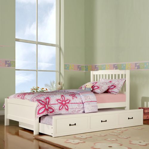 This Twin Trundle Bed Is Perfect For A Little Girl Graduating From Toddler
