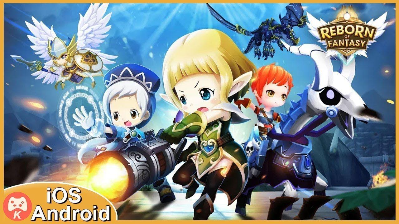 Reborn of Fantasy Gameplay iOS Android Games (Có hình ảnh)