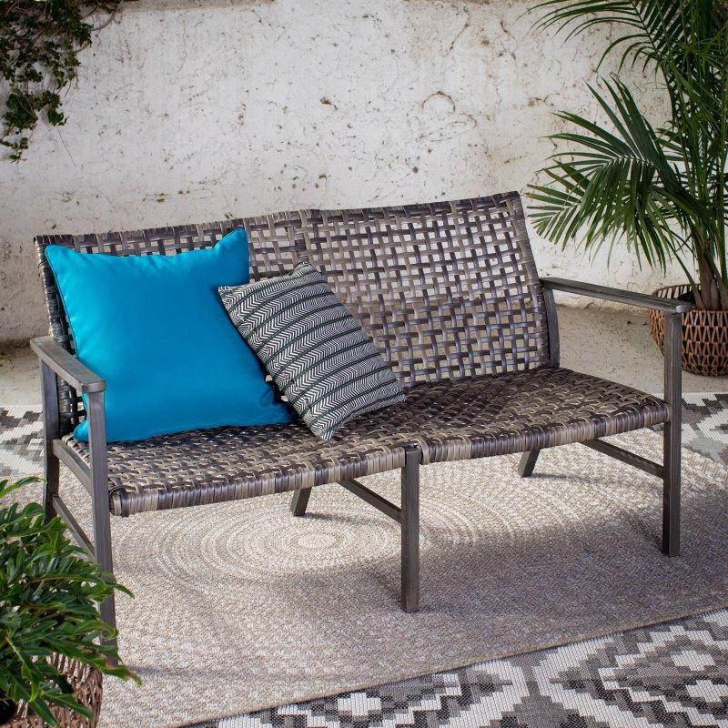 outdoor belham living eastport open weave all weather wicker rh pinterest com
