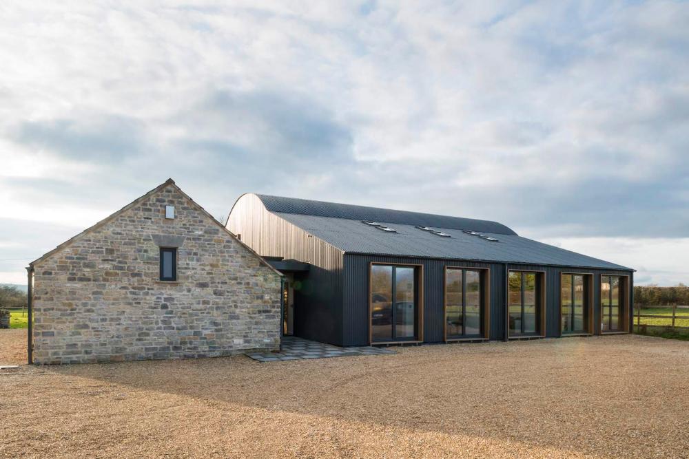 Mill Farm Barns – Orme Architektur: Architektur für die Umwelt – Somers …   – Houses +
