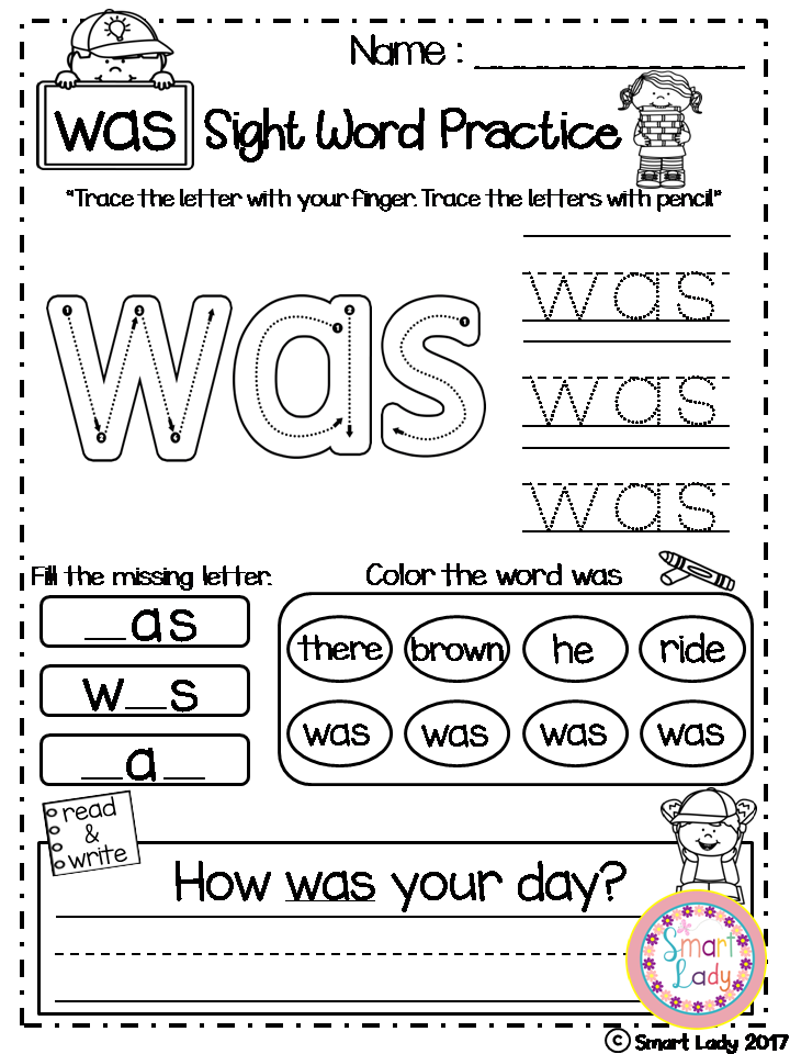 47++ Pleasing sight word practice worksheets Useful