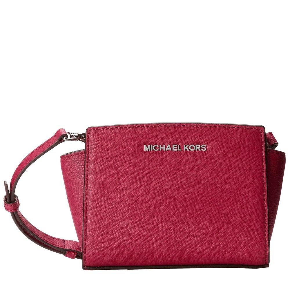 7f6d2a676 Bolsa Michael Kors Selma Mini Messenger Pink | Bags | Michael kors ...