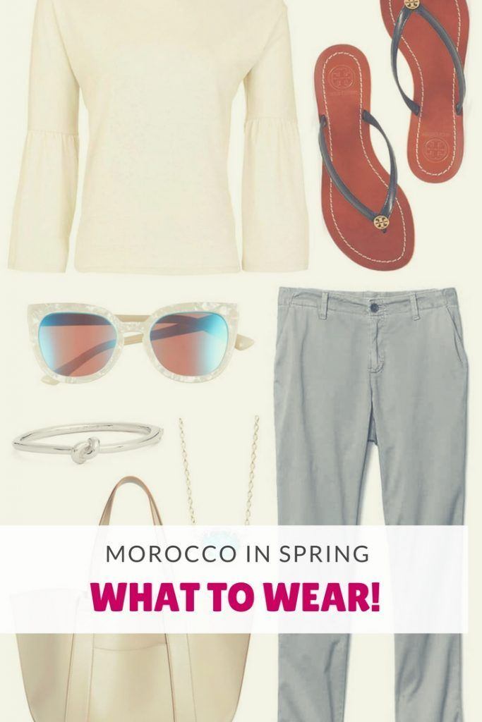 Pack your bags and head to Morocco this spring using this guide on what to wear!
