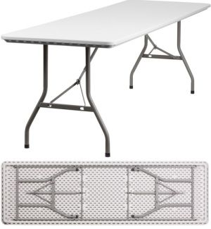Plastic Folding Tables 8 Foot Rb 3096 Gg Banquet Tables 20 Pack Folding Table Flash Furniture Furniture