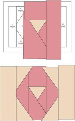 Quilting Intermediate Projects Ribbon Quilt Quilt Blocks Quilt Block Pattern