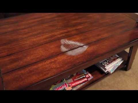 How To Remove Watermarks Or Cup Rings From Furniture   Salvage Hunters DIY  Tips   EB