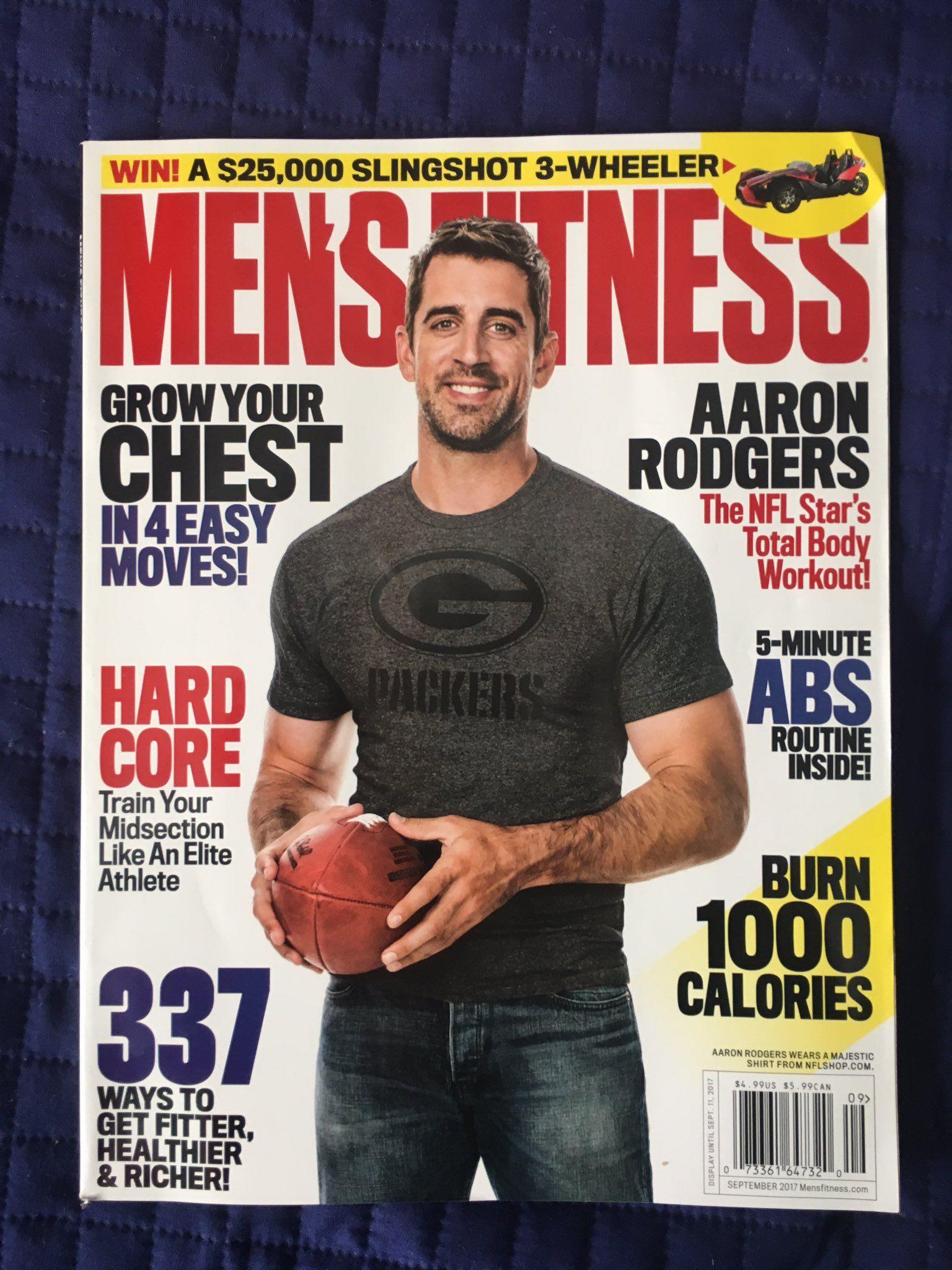 Brian L Jones On Twitter Mens Fitness Magazine Fitness Magazine Aaron Rodgers