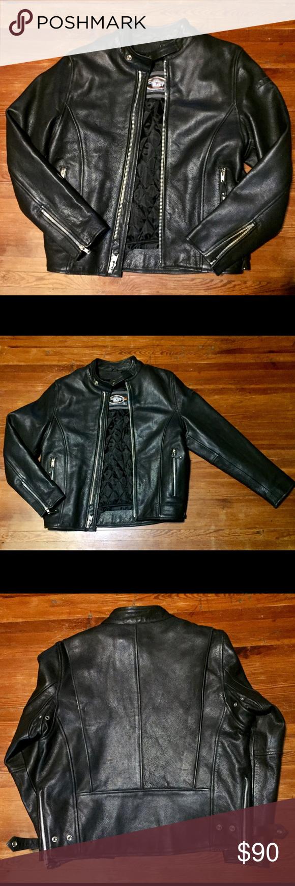 CUSTOM BILT Ladies Motorcycle Jacket CUSTOM BILT Ladies