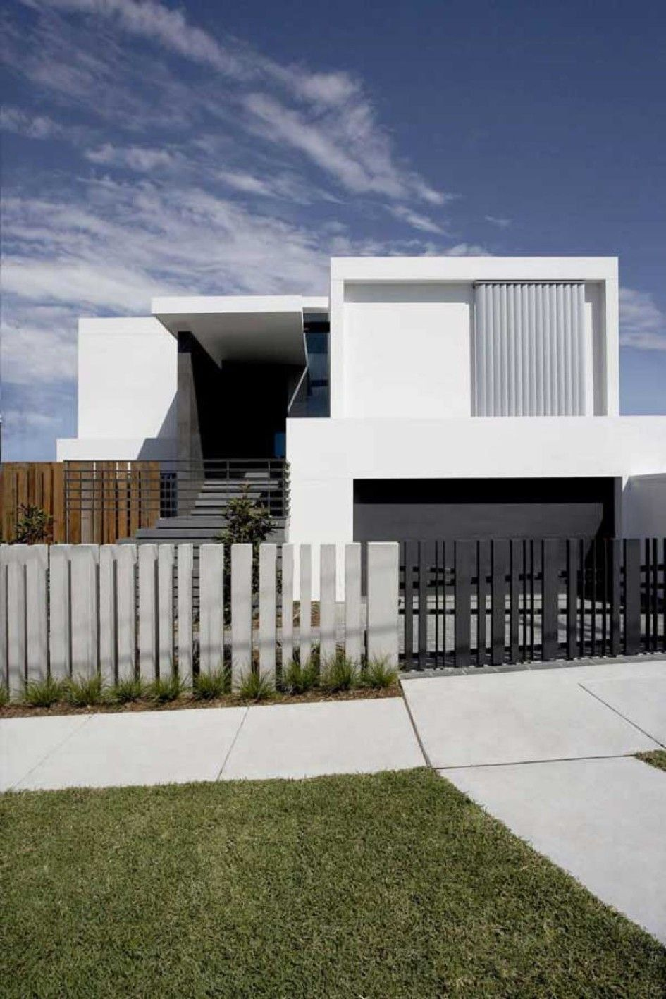 fence gate design images for minimalist house