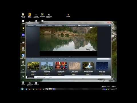 Stardock Deskscape 3 Adds Animated Backgrounds As Desktop Background Wallpaper In Windo Backgrounds Desktop Desktop Wallpapers Backgrounds Animation Background