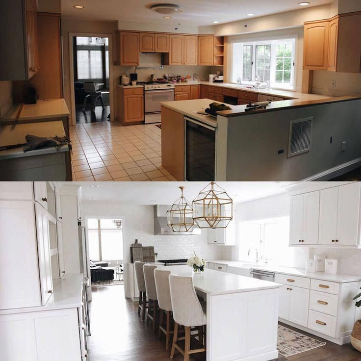 7 jaw dropping kitchen remodel ideas before and after rh pinterest com