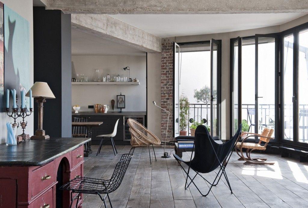 gravityhomeblog paris2 2 Paris Apartments Studio Apartment