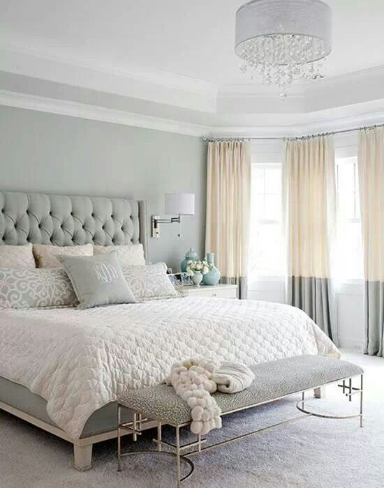 Softly seductive .....♡ | Beautiful bedroom colors ...