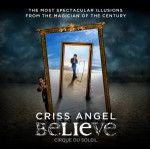 Criss Angel® Believe™ del Cirque du Soleil® en Luxor Las Vegas. Criss Angel, en asociación con Cirque du Soleil, presenta CRISS ANGEL Believe, una ilusión espectacular en el Luxor Hotel & Casino. http://lasvegasnespanol.com/en-las-vegas/criss-angel-believe-del-cirque-du-soleil-en-luxor-las-vegas/