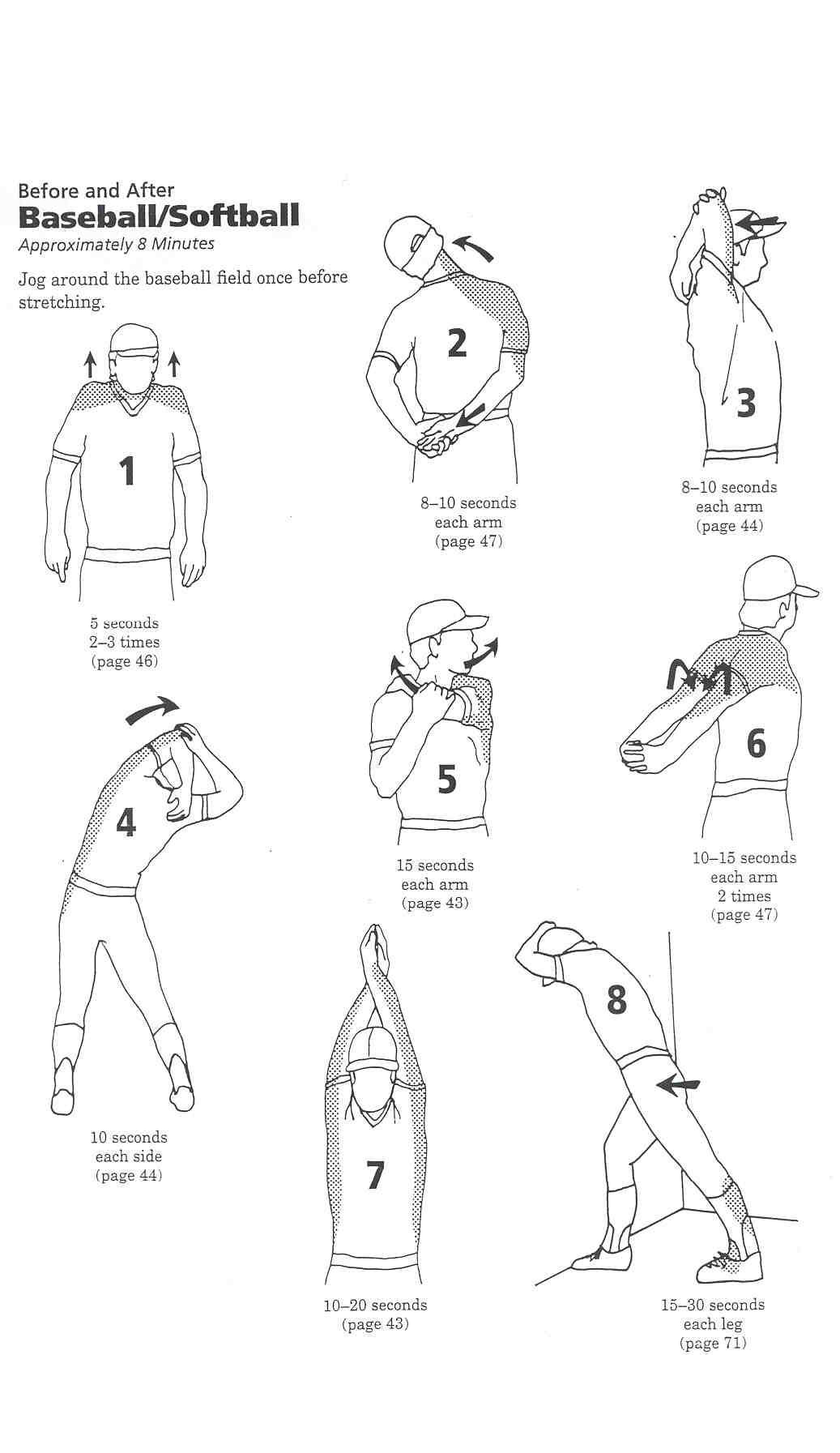 Image Result For Softball Stretches