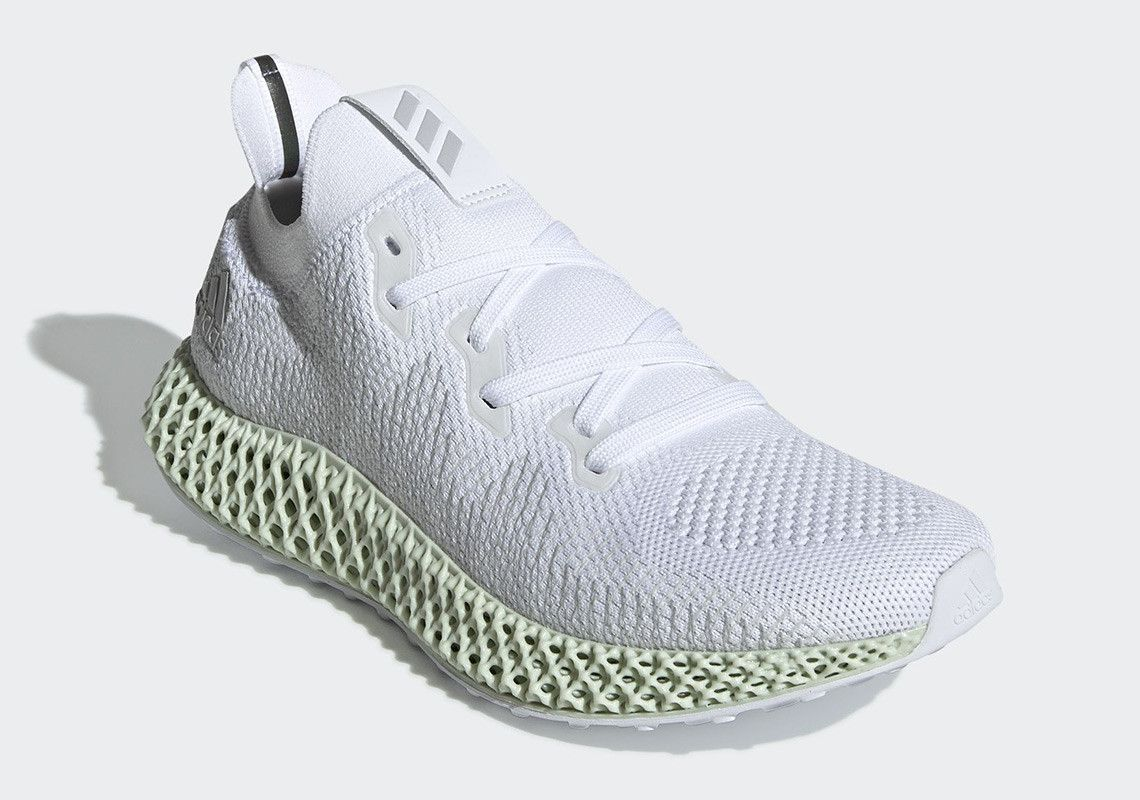 9d608022d7873c The adidas AlphaEdge 4D Futurecraft In White Drops This Weekend ...