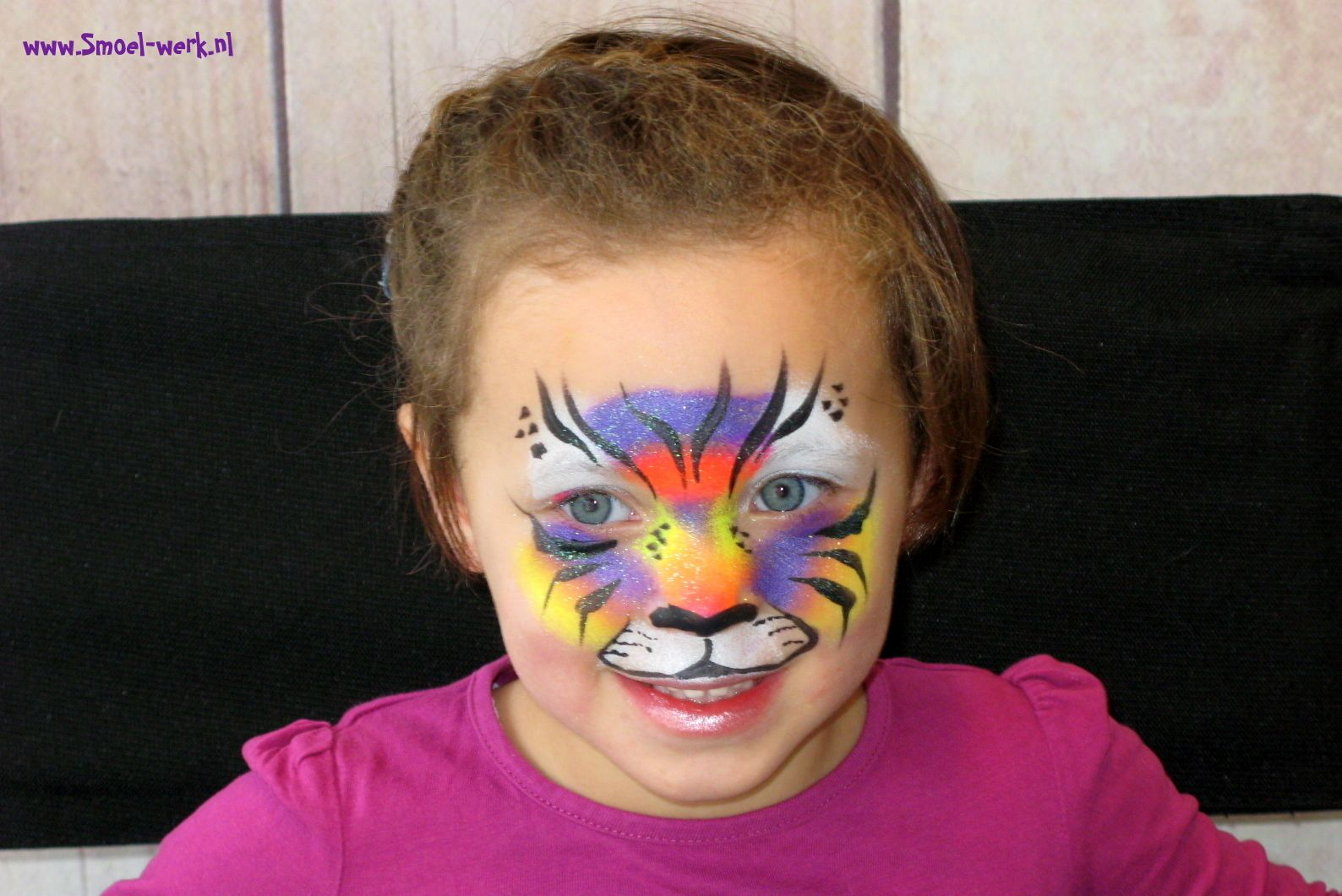 Cute little fantasy tiger