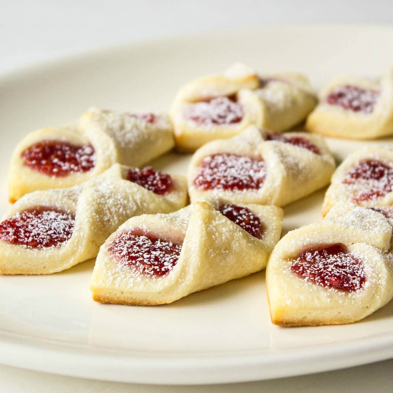 Raspberry Bow Tie Cookies These Are The Best Christmas Cookie
