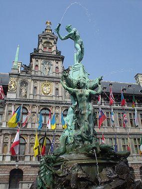 Antwerpen, Belgie