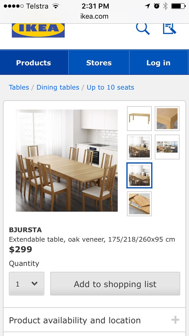 Dining Table Seats 8 Or Join 2 To Seat 14 Dining Table Table
