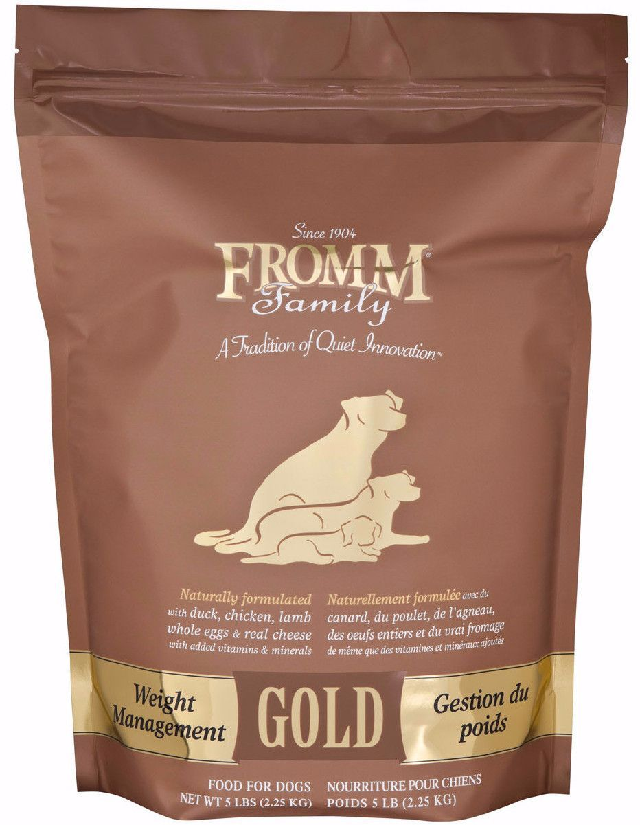 Fromm Gold Weight Management Dry Dog Food Various