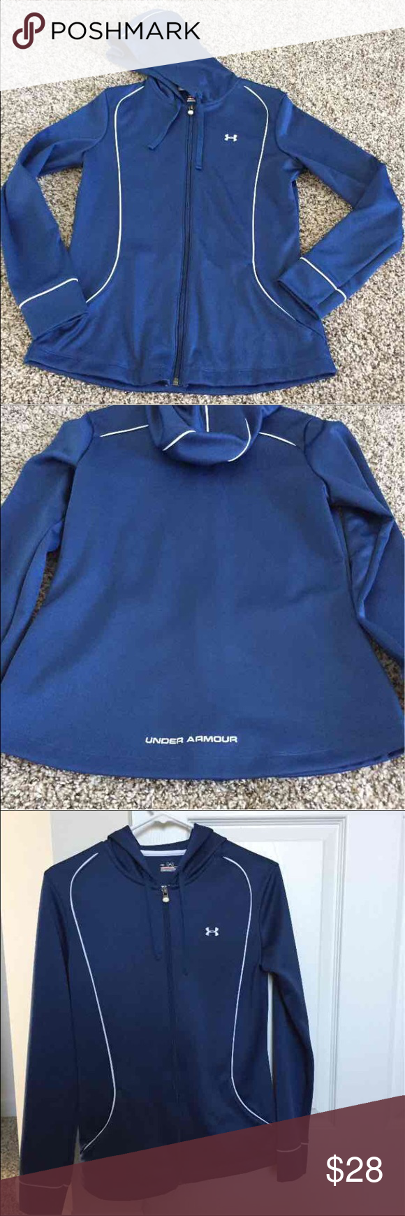 Blue Under Armour jacket Blue Under Armour jacket. Size S. Under Armour Jackets & Coats