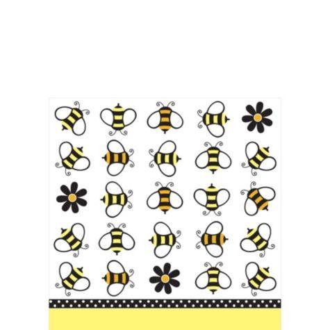 Bumble Bee Beverage Napkins 18ct