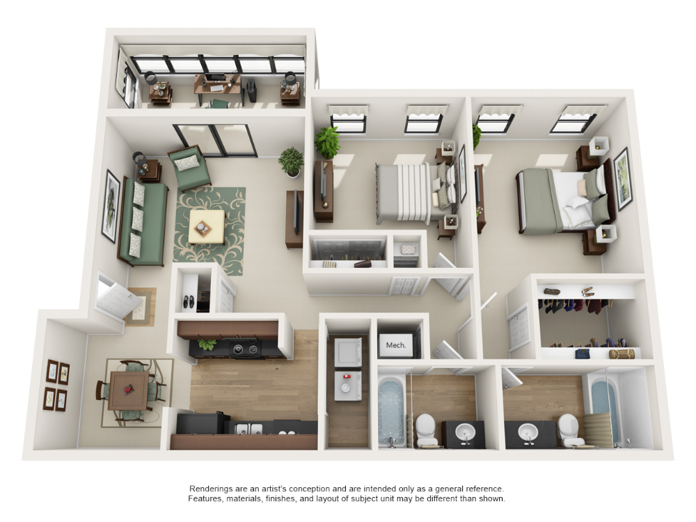 One And Two Bedroom Apartment Floor Plans Rosemont At East Cobb Apartment Steadfast Marietta Georgia Floor Plans Apartment Floor Plans Apartment Layout