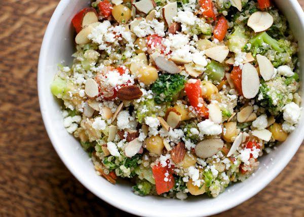 Red Pepper and Broccoli Quinoa