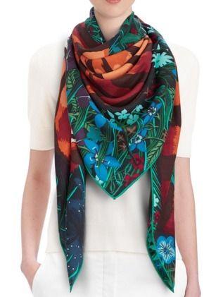 Rare color also HERMES cashmere silk shawls 840 x 840 - BUYMA
