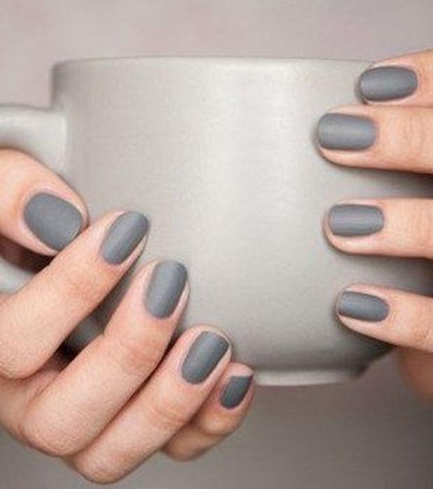 Esmalte de uñas mate metalizado   Esmalte de uñas   Pinterest ...