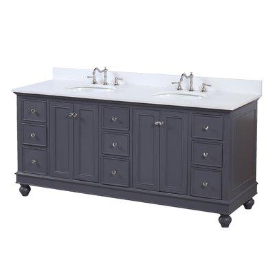 Best Kbc Bella 72 Double Bathroom Vanity Set Base Finish 400 x 300