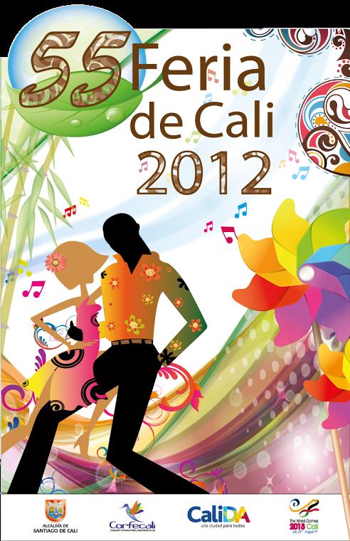 Afiche Feria de Cali. | Hecho en Colombia en 2019 ...