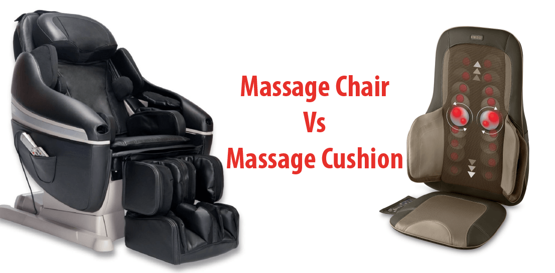 What Is The Difference Between Massage Chair vs Massage