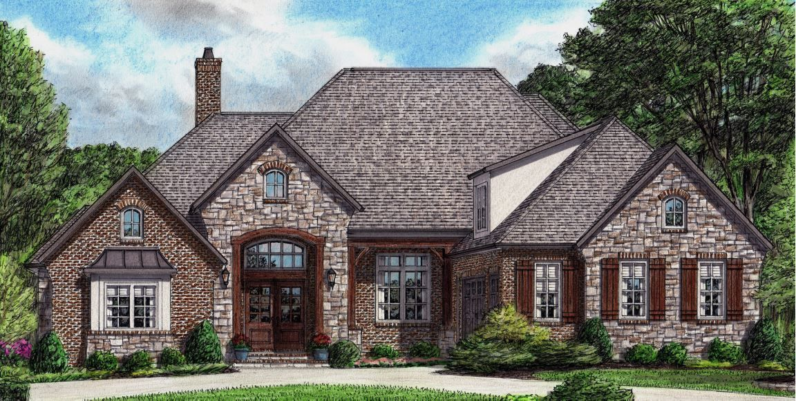 Burgundy Stephen Davis Home Designs Lake House Plans Unique Houses Exterior English Country House Style