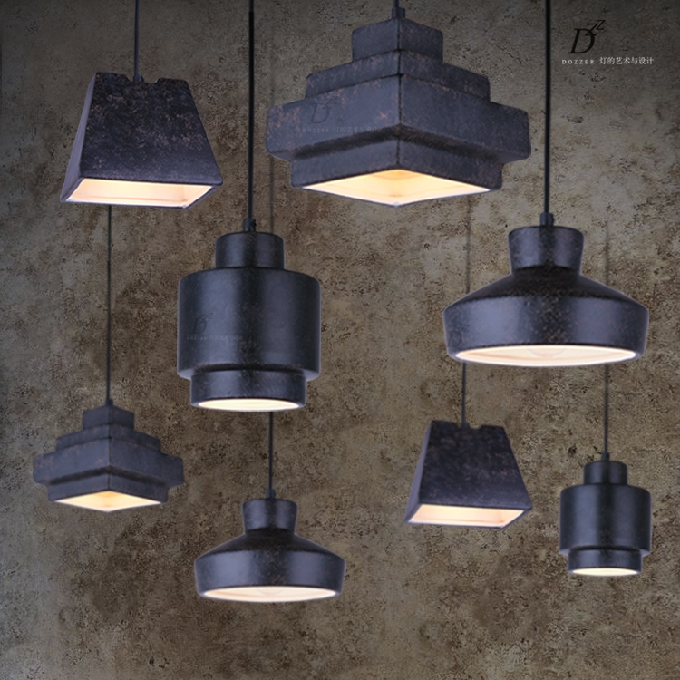Quality Lamp Costume Directly From China Light Bulb Suppliers Bar Single Retro Black Ceramics Pendant Lights Dining Room Novelty Lighting Fixtures