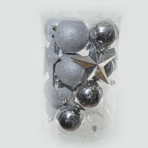 lot de 20 d 233 corations plastique argent boules en plastique izaneo noel or et argent