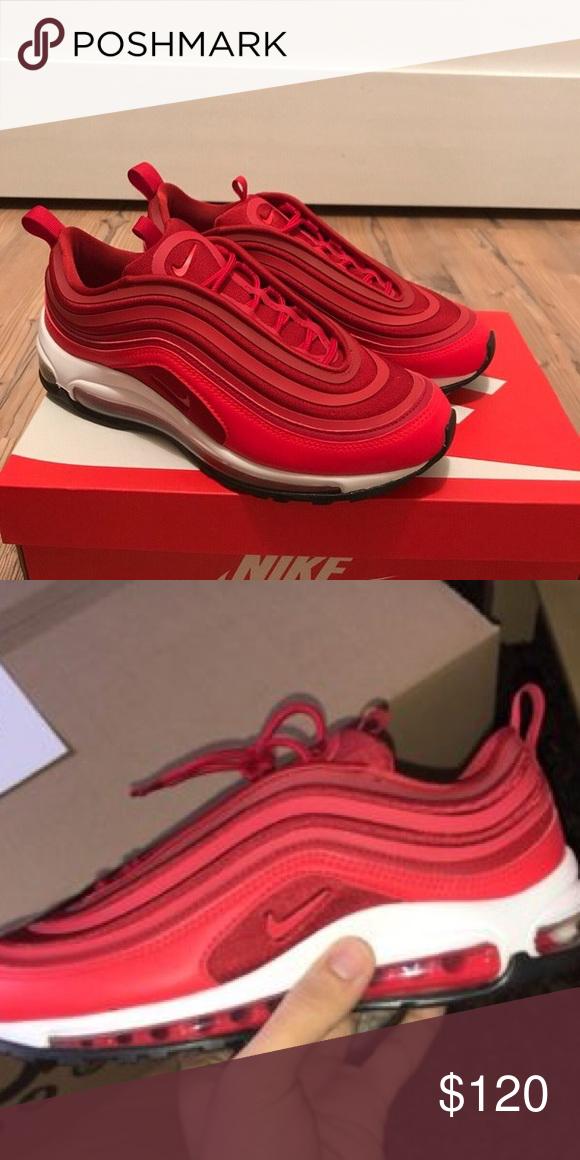 d02cd07c673e16 AIR MAX 97 AIR MAX 97 COLOR  RED SIZE  10 IN MEN! Nike Shoes Athletic Shoes