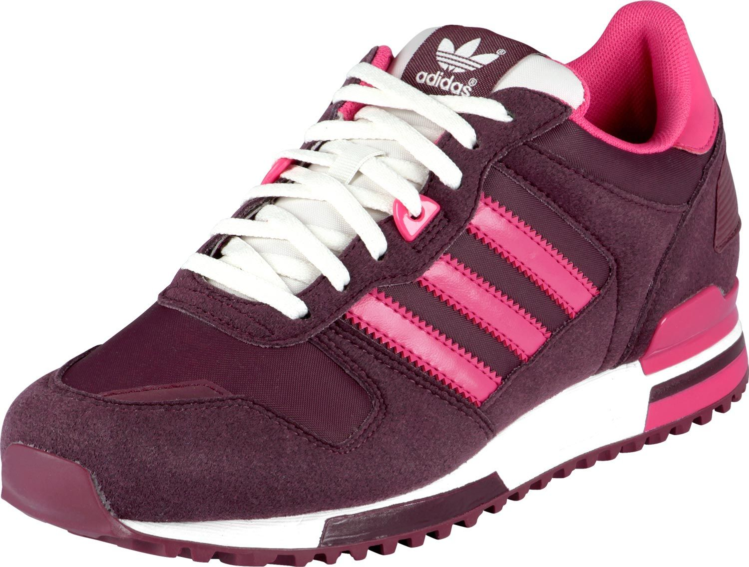 Adidas ZX 700 W shoes purple pink | Adidas zx 700, Sneakers ...