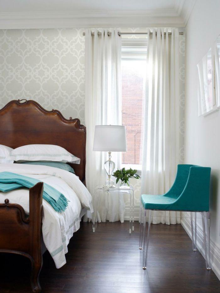 111 Wohnideen Schlafzimmer für ein schickes Innendesign - gardinen fürs schlafzimmer