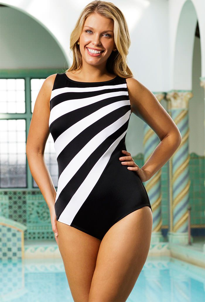 f3866af2a4 Floral Print Plus Size Push Up One Piece Swimsuit   Swimwear - Beach ...