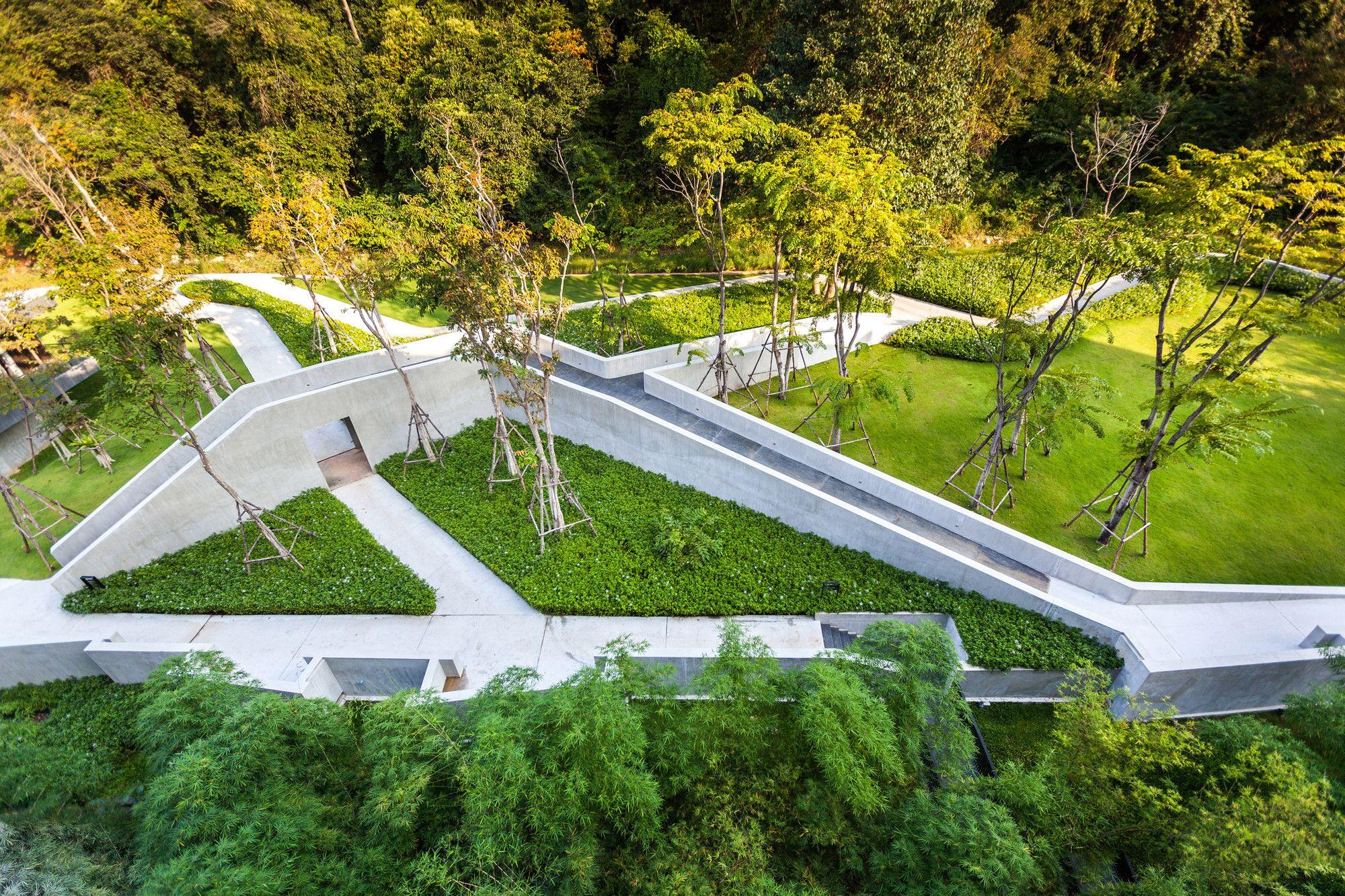 Gallery Of Botanica Khao Yai Vin Varavarn Architects 28 Urban Landscape Design Landscape Architect Landscape Design