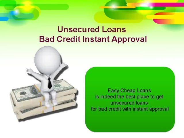 Acquire Unsecured Loans With No Obligation Unsecured Loans Bad Credit Score Loans For Bad Credit