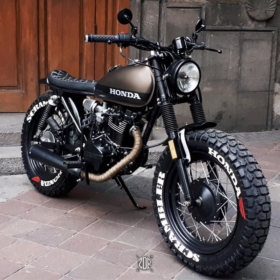 Cafe Racer Nation On Instagram Honda Cgl 125cc Scrambler Style By Zdrcustom More At Caferacernation Honda Scrambler Cafe Racer Bikes Cafe Racer Motorcycle