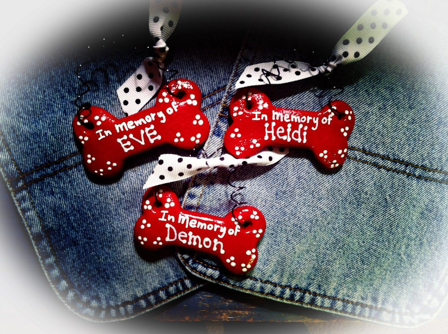 Personalized Dog Ornament In Memory of Your Pet Dog